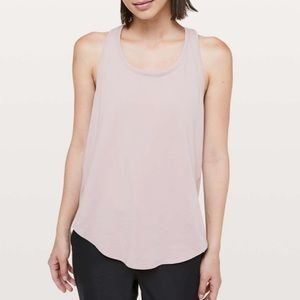 Luluemon love tank smoky blush pink 10 NWT
